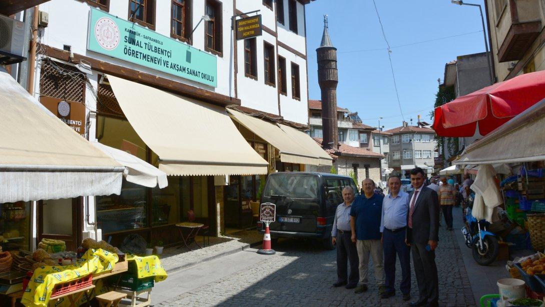 Safranbolu Öğretmenevimize Bir Hizmet Binası Daha Kazandırıldı